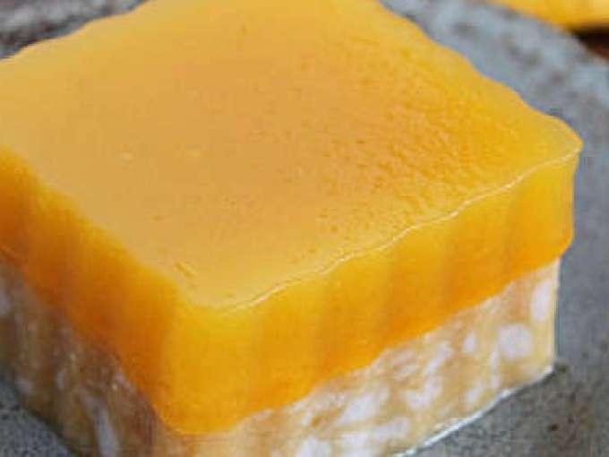Thai Coconut Mango Jelly Recipe Petitchef