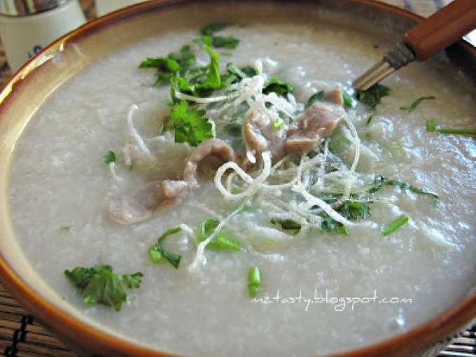 beef porridge/congee recipe petitchef