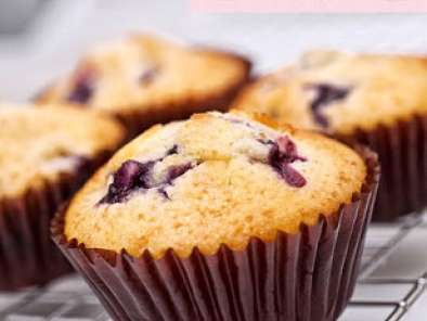 Recipe Blueberry muffin (recipe from kitchenaid mixer cookbook)
