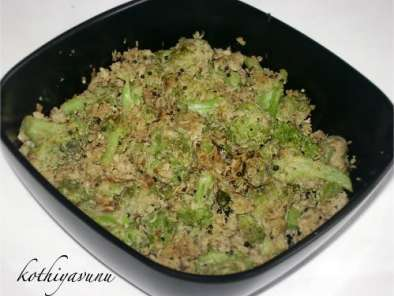 Recipe Broccoli thoran /broccoli stir fry