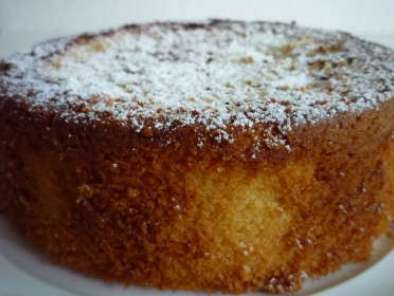 Recipe French almond cake