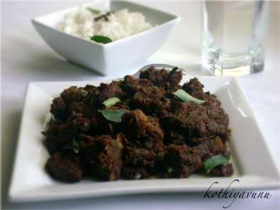 Recipe Chettinad mutton chukka varuval /spicy lamb dry curry