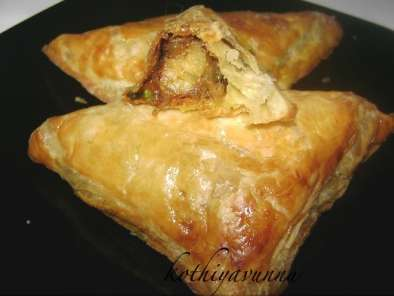 Recipe Egg puffs & vegetable puffs