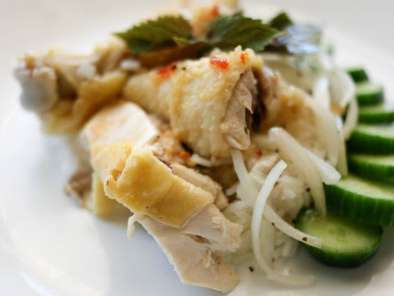 Recipe Com ga/ vietnamese chicken with mint rice