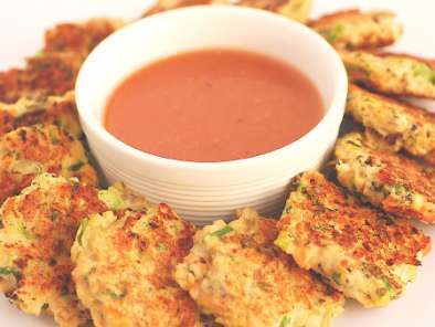 Recipe Green lipped thai style mussel fritters