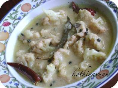 Recipe Cauliflower rezala / cauliflower in yogurt and spices gravy