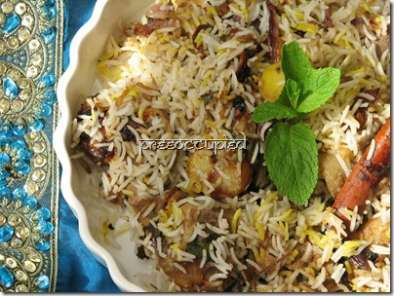 Recipe Hyderabad-inspired pakki biryani