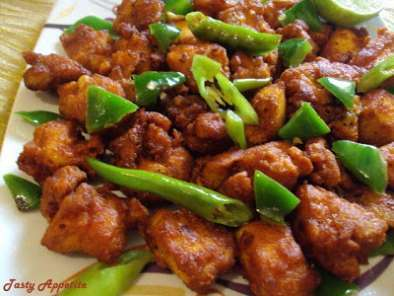 Recipe Chilli chicken 65