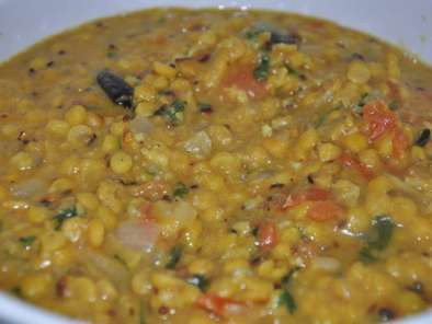Recipe Tadke wala chana dal (tempered split chickpea dal)