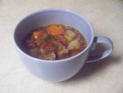 Recipe Vegetable beef soup