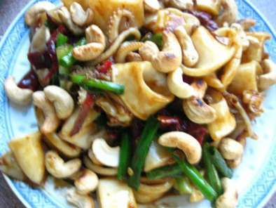 Recipe Kong poa squid