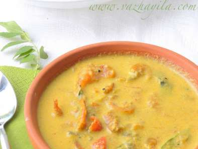 Recipe Unakka chemmeen curry - dry prawns in coconut sauce