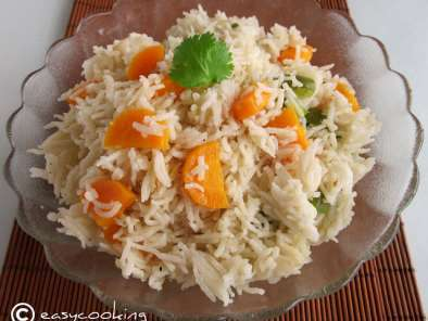 Recipe Vegetable ghee rice..a perfect one-pot meal!!