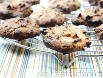 Recipe Gluten free triple coconut almond butter cookies+chocolate chips