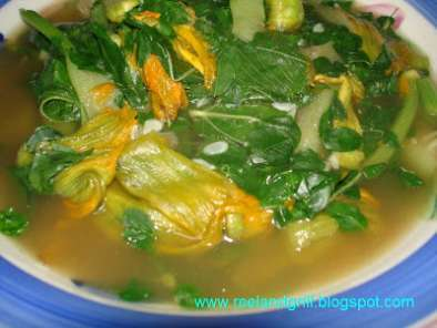 Recipe Abraw o inabraw (vegetables stewed in fish paste)