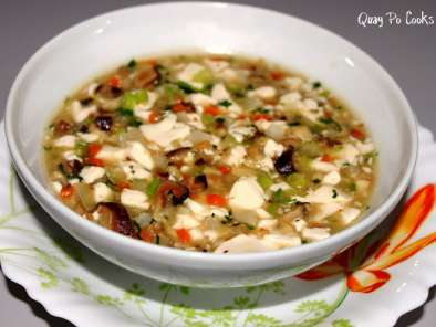 Recipe Tau foo kang (smooth thick tau foo soup) - featured in group recipes