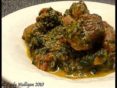 Recipe Lamb and spinach curry (lamb saag)