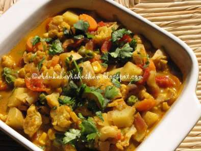 Recipe Mixed veg masala
