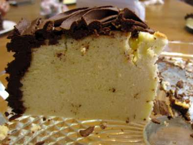Recipe Cheesecake with ganache