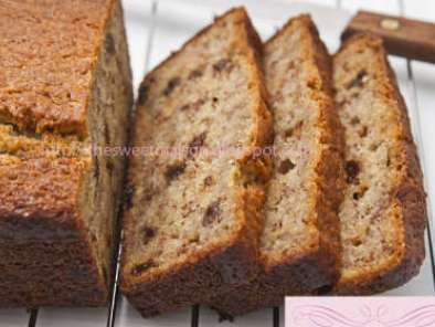 Recipe Banana bread with raisins (super moist & soft)