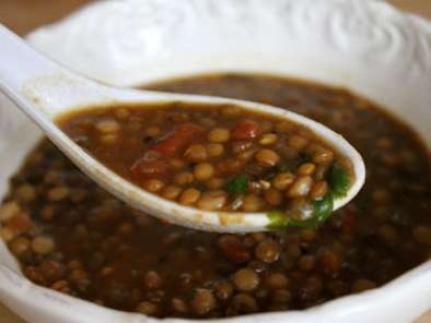 Recipe Soup of the week - suvir saran's lentil soup