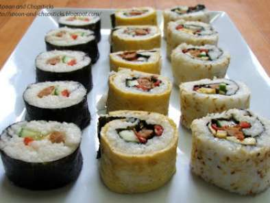 Recipe Make your own sushi at home