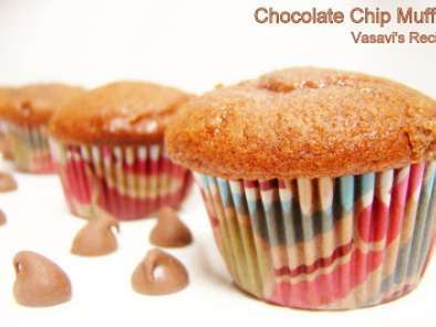 Recipe Chocolate chip muffins with cake mix
