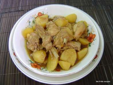 Recipe Braised potato chicken