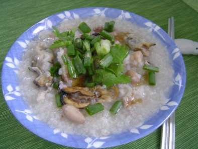Recipe Pork ribs oyster porridge