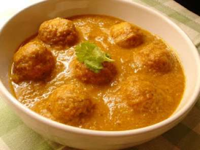 Recipe Banana kofta curry