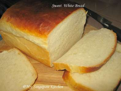 Recipe Sweet and soft white bread