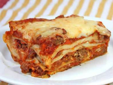 Recipe Really good lasagna