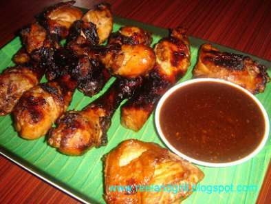 Recipe Homemade barbecue sauce and chicken barbecue