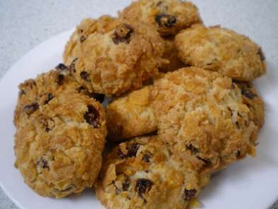 Recipe Chocolate cornflake slice & cornflake cookies