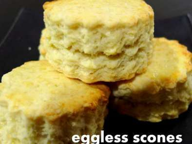 Recipe Eggless scones