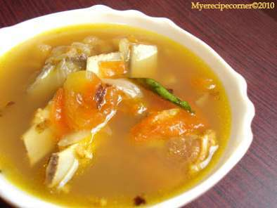 Mutton( lamb) bone soup