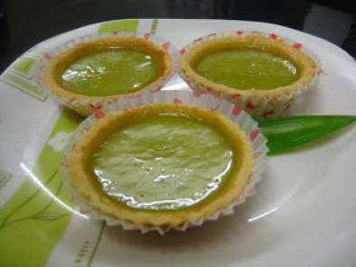 Recipe Pandan egg tart
