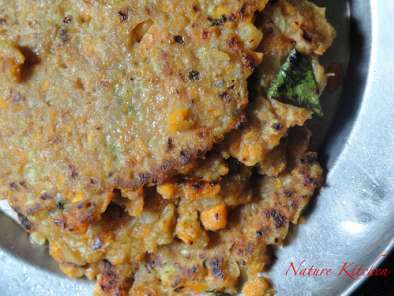 Recipe Red rice roti - very healthy