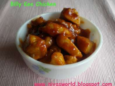 Recipe Billy kee chicken