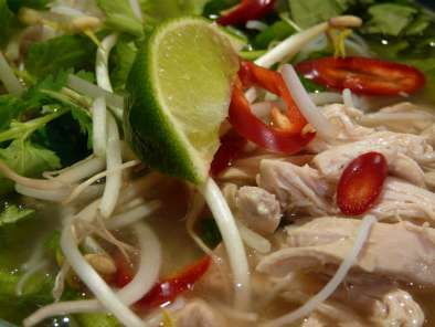 Recipe Vietnamese chicken pho - weekend blog showcase