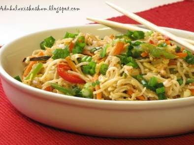 Recipe Chicken hakka noodles