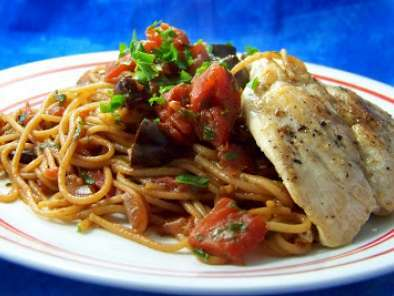 Recipe New weight watchers plan: spaghetti alla puttanesca with chicken