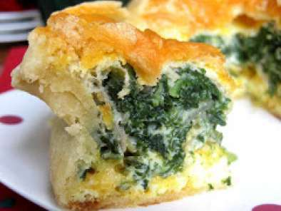 Recipe Spinach-artichoke quiche