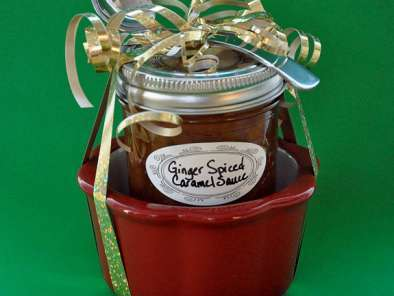 Recipe Christmas candy recipes: ginger spiced caramel sauce recipe