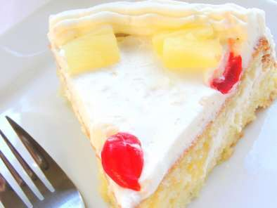 Recipe Pineapple sponge cake