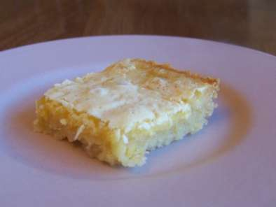 Recipe Low carb lemon squares