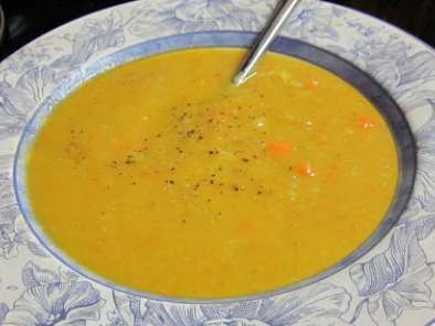 Recipe Carrot & celery root soup