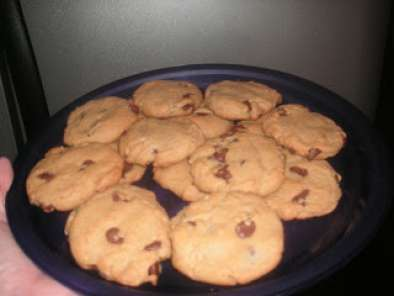 Recipe Peanut butter chocolate chip cookies-day 7 of the 10 days of christmas cookies and bars