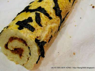 Recipe Pork floss bread roll