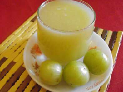 Recipe Amla juice / indian gooseberry juice